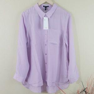 NEW Eileen Fisher Malow Classic 100% Silk Shirts